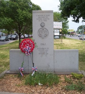 Rosedale Veterans Memorial Marker image. Click for full size.