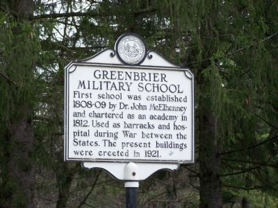 Lewisburg Military School Marker image. Click for full size.