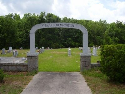 ST.Paul's Lutheran Cemetery image. Click for full size.