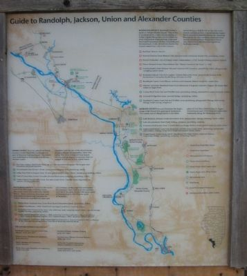 Guide to Randolph, Jackson, Union and Alexander Counties image. Click for full size.