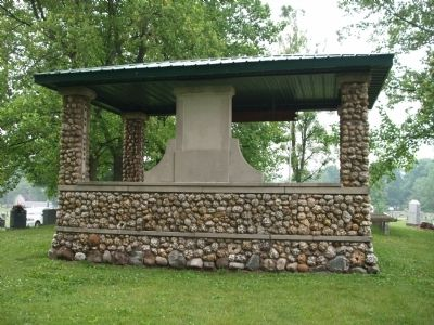 "Full Back View - - "" Soldiers Memorial Pavilion "" image. Click for full size."