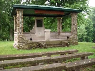 "Front / East View - - "" Soldiers Memorial Pavilion "" image. Click for full size."