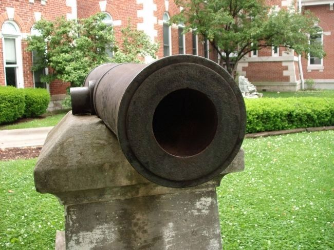 Muzzle of Cannon image. Click for full size.