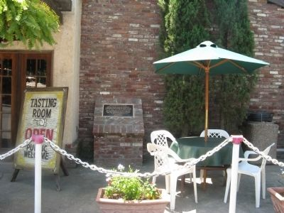 Frasinetti's Winery Marker and Tasting Room image. Click for full size.