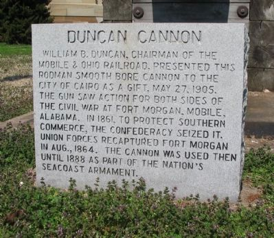 Duncan Cannon Marker image. Click for full size.