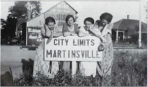 An Old Photo Greetings to Martinsville, Indiana image. Click for full size.