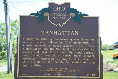 Manhattan Marker image. Click for full size.