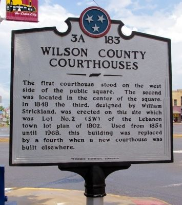 Wilson County Courthouses Marker image. Click for full size.