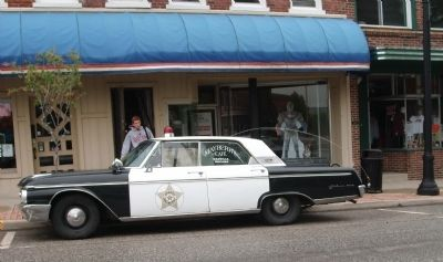 The Mayberry Squad Car - Show Stopper..... image. Click for full size.