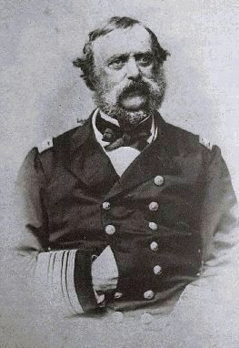 Rear Admiral Du Pont, 1862 image. Click for more information.
