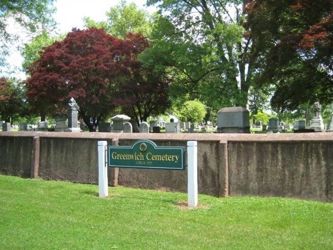 Old Greenwich Cemetery image. Click for full size.