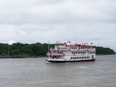 Savannah River Queen, scenic boat ride , works the waters image. Click for full size.