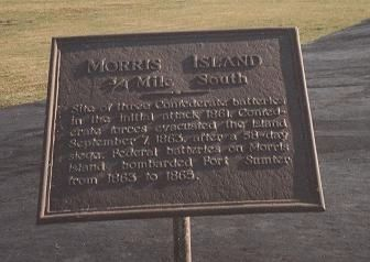 Morris Island Marker image. Click for full size.