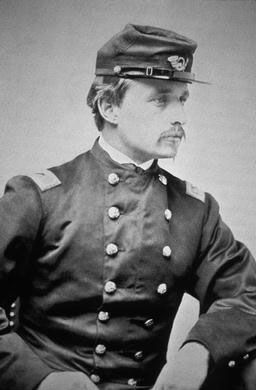 Col. Robert Gould Shaw image. Click for full size.