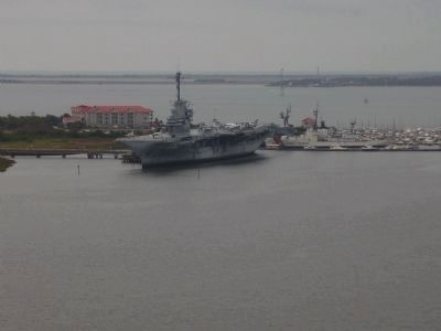 The USS York Town From the Bridge image. Click for full size.