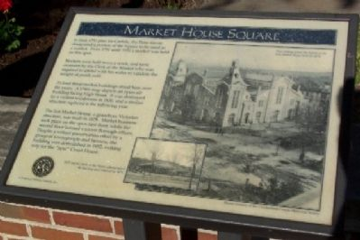 Market House Square Marker image. Click for full size.