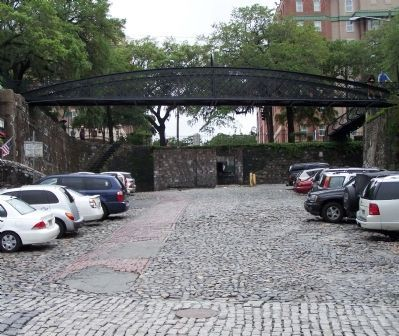 Savannah's Cobblestones and brickwork , near Factors Walk, as mentioned image. Click for full size.