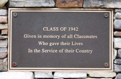 Class of 1942 Marker image. Click for full size.