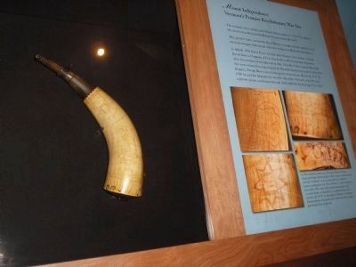 Powder Horn of David Rusco image. Click for full size.