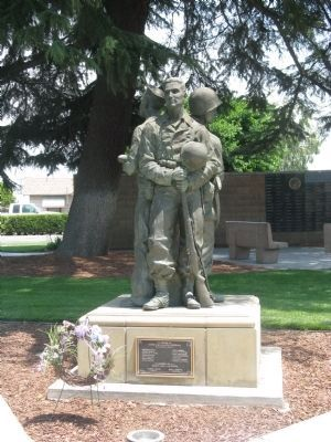 Ripon World War II Memorial image. Click for full size.