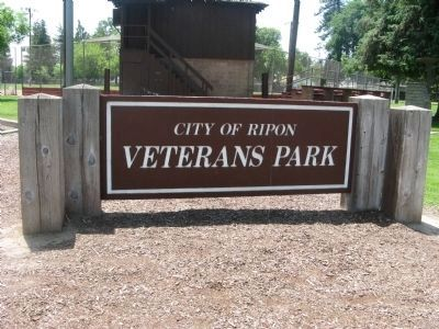 City of Ripon Veterans Park image. Click for full size.