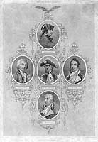 """American Naval Commanders"" of the Revolutionary War Era image. Click for full size."