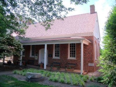 Chesterfield County Museum housed in a reconstruction of the 1750 Courthouse. image. Click for full size.