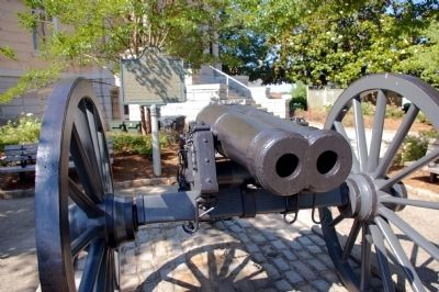 The Athens Double-Barrelled Cannon and Marker image. Click for full size.