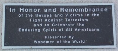 Fulton County War on Terrorism Memorial image. Click for full size.