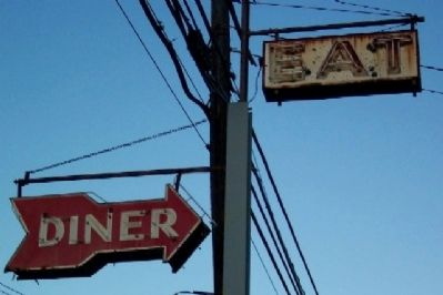Johnnie's Diner Neon Signs image. Click for full size.