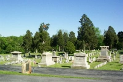 Revolutionary War Soldiers Buried in Big Springs Presbyterian Church Cemetery Marker image. Click for full size.