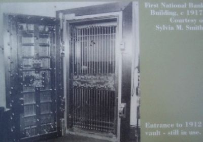 The First National Bank of Newville Vault image. Click for full size.