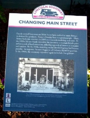 Changing Main Street Marker image. Click for full size.