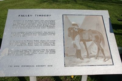Fallen Timbers Marker image. Click for full size.
