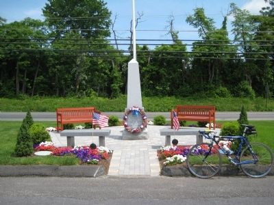 Holland Township Veterans Monument image. Click for full size.