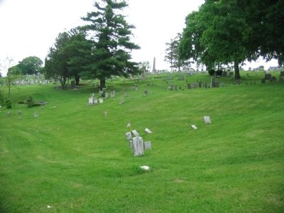 Union Cemetery Today image. Click for full size.