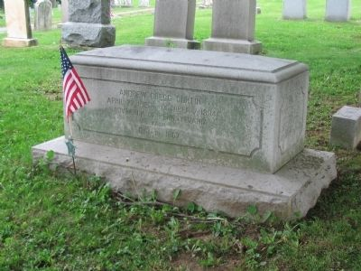 Grave of Governor Curtin image. Click for full size.