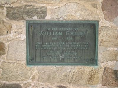 William Childs Marker image. Click for full size.