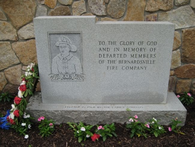 Bernardsville Fire Company Marker image. Click for full size.