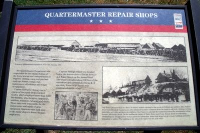 Quartermaster Repair Shops CWT Marker image. Click for full size.