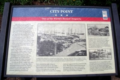 City Point CWT Marker image. Click for full size.
