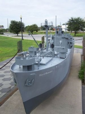 Liberty Ship Display from nearby Brunswick, Ga. image. Click for full size.