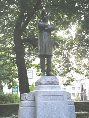 General Daniel Butterfield Statue image. Click for full size.