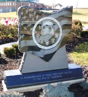 Ohio Fallen Heroes Memorial Remembrance Marker image. Click for full size.