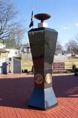 Ohio Fallen Heroes Memorial Eternal Flame image. Click for full size.