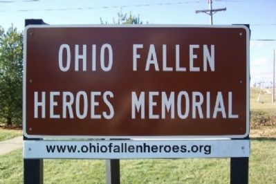 Ohio Fallen Heroes Memorial Sign image. Click for full size.