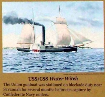 USS/CSS Water Witch image. Click for full size.