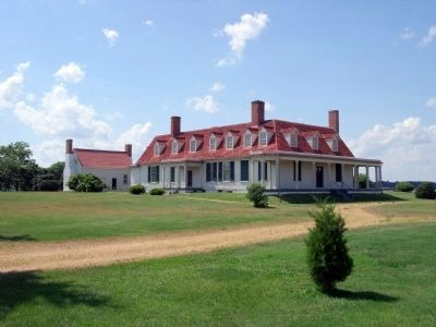 Appomattox Manor at City Point. image. Click for full size.
