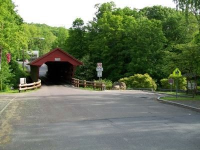 Newfield Covered Bridge image. Click for full size.