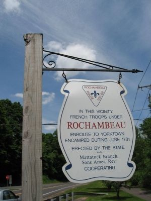 Rochambeau Route 1781 – 82 Marker image. Click for full size.